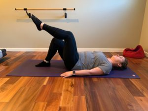 physical therapist approved at home pilates sequence bridge